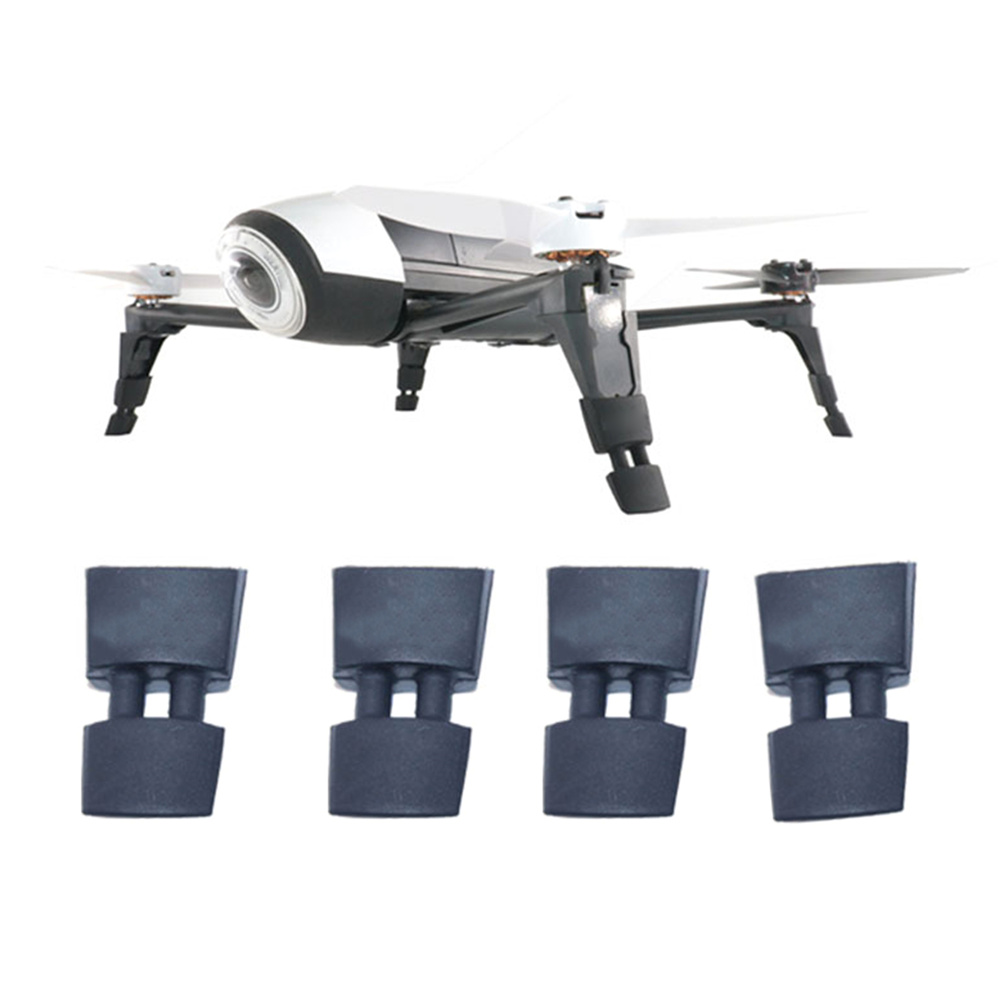 Drones accessories Rubber Landing Gear Height Extender Leg Protector for Parrot BEBOP 2 FPV HD Video Drone flying more secure