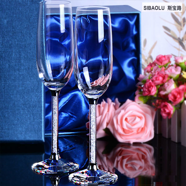 Crystal Champagne Flutes Wedding Gles Cups Coupe Decoration On Aliexpress Alibaba