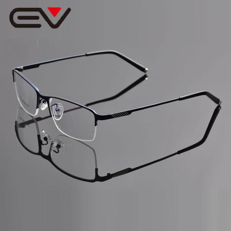 2015 EV Montura de Gafas Mitad borde de Metal de Negocios Hombre de ...