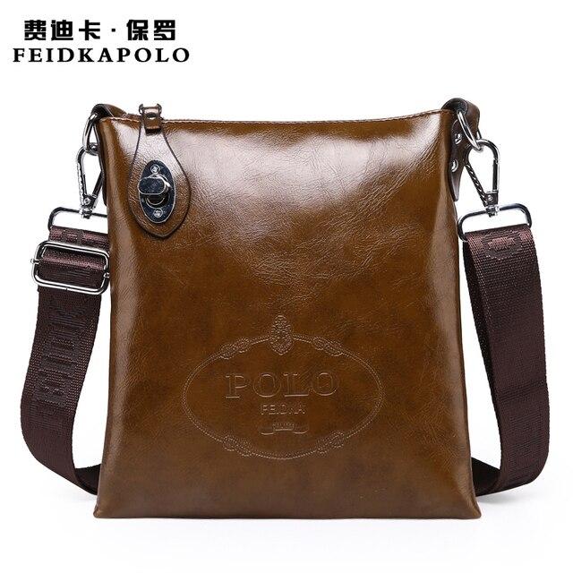 2c9c08d13793 2015 Latest arrival Brand Specials Messenger Bag men Casual carry bag Design  PU leather handbag POLO