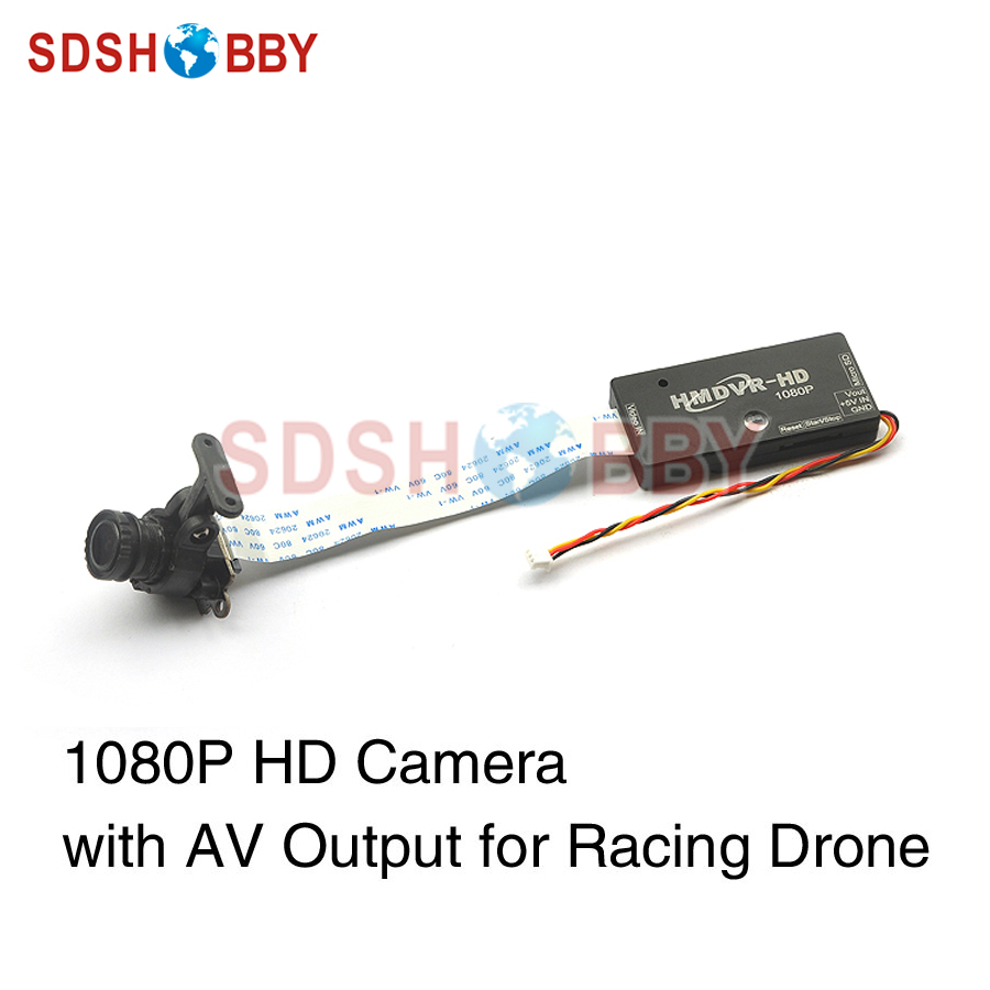 HMDVR-HD 1080P HD DVR Camera AV Output Low Latency for Racing Drone FPV
