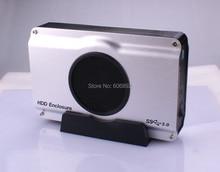 Бесплатная доставка 3.5 дюймов USB 3.0 для SATA HDD Корпус корпус внутренний холодный вентилятор Заводским Ценам