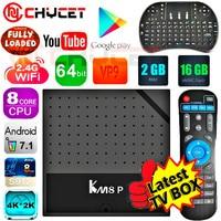 Chycet KM8P Octa Core 1G 8G 2G 16G Android 6 0 TV Box Amlogic S912 64bit