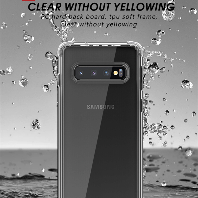Samsung Galaxy S10 Case IPAKY S9 S9 Plus- ի վերադառնալ TPU - Բջջային հեռախոսի պարագաներ և պահեստամասեր - Լուսանկար 2