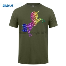 gildan funny t shirt ideas o neck design short sleeve gay pride rainbow glitter unicorn - T Shirt Logo Design Ideas