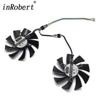 DIY 86MM PLA09215B12H 4Pin Cooler Fan Replace For MSI XFX RX 470 570 GIGABYTE GTX 1060