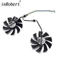 DIY 86MM PLA09215B12H 4Pin Cooler Fan Replace For MSI XFX RX 470 570 GIGABYTE GTX 1060