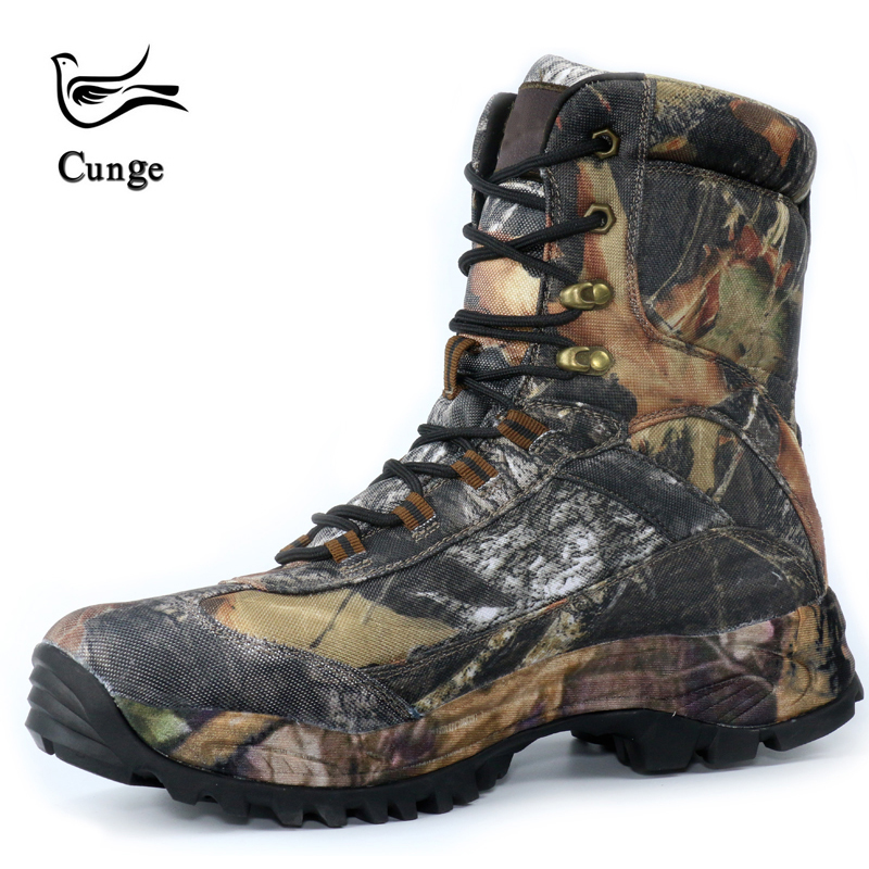 New Men Military Tactical Boots Combat Boots Desert Boots Hiking Camouflage High top Desert Boots Fashion