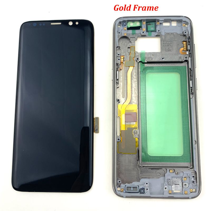 For-S8-plus-G950-lcd-with-frame-all-17