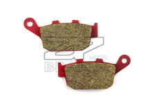Motorcycle parts Brake Pads Fit HONDA CBR 400 RRJ/K 1987-1989 CB 400 Four 97-98 Rear OME NEW Red Ceramic Composite Free shipping