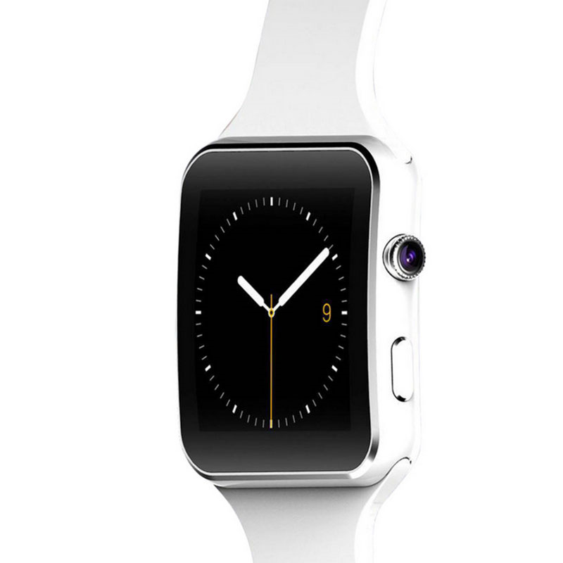 Hot Sale X6 Bluetooth Smart Watch MTK6260 1 54 IPS Screen Camera Support SIM Card font