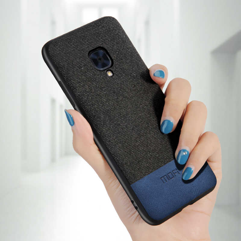 huge discount 4fd29 74199 For oneplus 3t case cover shockproof 1+3 1+3t back cover fabric cloth  protective cases capas MOFi original one plus 3 case