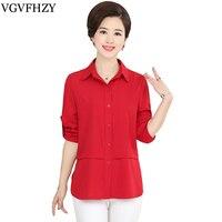 Women Blouse 2018 Women Shirt Fashion Casual Plus Size Blouses Long Sleeve Shirts Ladies Office Shirts