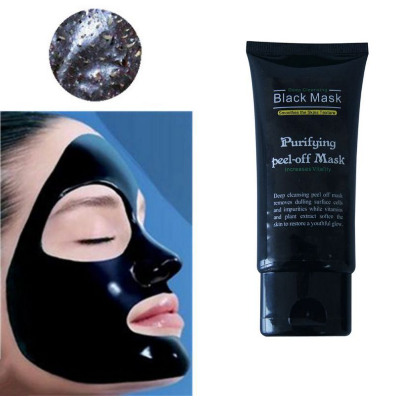 Big Promotion 50ml Professional Blackhead Remover Facial Masks Deep Cleansing Purifying Peel Off Black Mud Face Mask