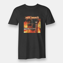 The Avenger Amon Amarth RED T-shirt Mens Size S-XXXL Black Tees 100% Cotton T Shirts Brand Clothing Tops