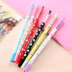 6pcs lot japanese flower gel pens for writing kawaii diamond head gel pens for kids stationery.jpg 250x250