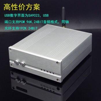 2019 SU7 ES9038 Audio Decoder Bluetooth 5.0 DAC HiFi SA9023 USB Coaxial Fiber Decoder