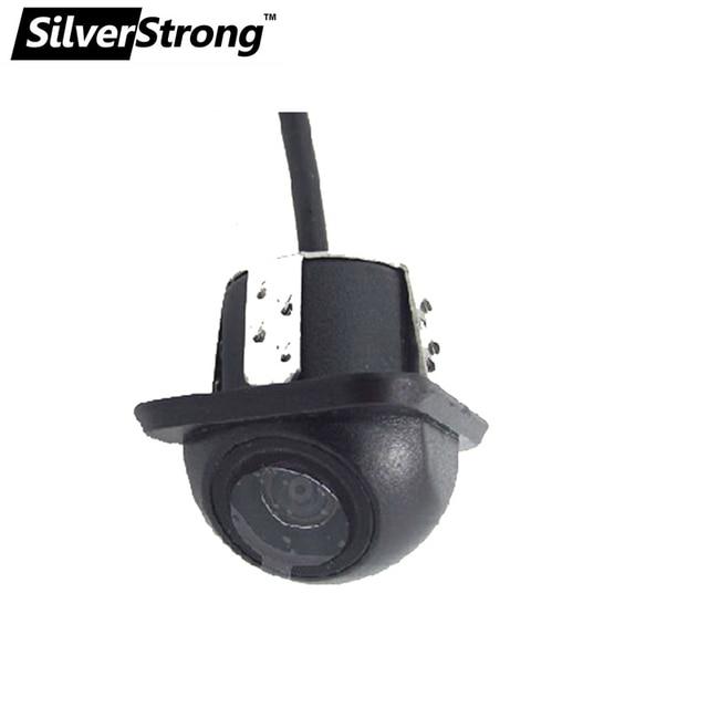Silverstrong автомобиля камера заднего вида Камера обратный Камера для парктроник Системы ПЗС парковка Камера широкоугольный для всех автомобилей hat