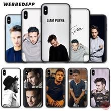 WEBBEDEPP 1D Liam Payne Soft Silicone TPU Phone Case for iPhone 5 5S SE 6 6S 7 8 Plus XR X XS Max printio max payne