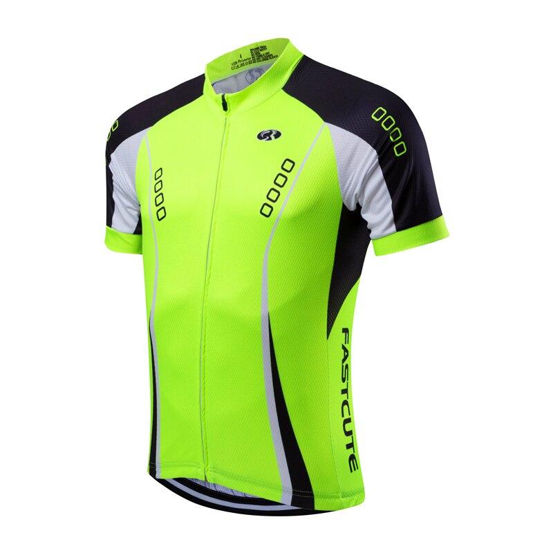 Prix pour FASTCUTE2016 ans professionnel équipe manches courtes vélo jersey court serré course bike gear Ropa Ciclismo vêtements de cyclisme sur route