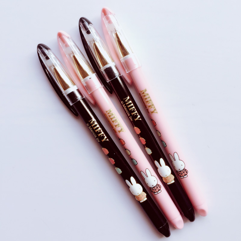 X41 4X Cute Kawaii Lovely Rabbit Gel Pen Writing Signing Pen Kids Gift Student Stationery School Office Supply Black Ink st luce sl202 102 13