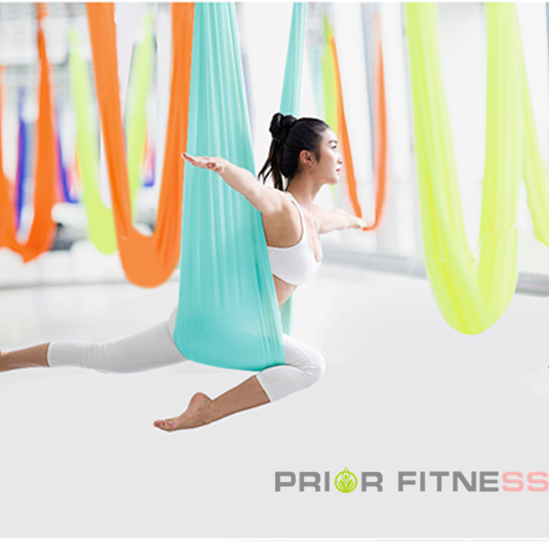 2020 Hot High Styrke Aerial Yoga Hammock 5meters High Quality 23 - Fitness og kroppsbygging - Bilde 5