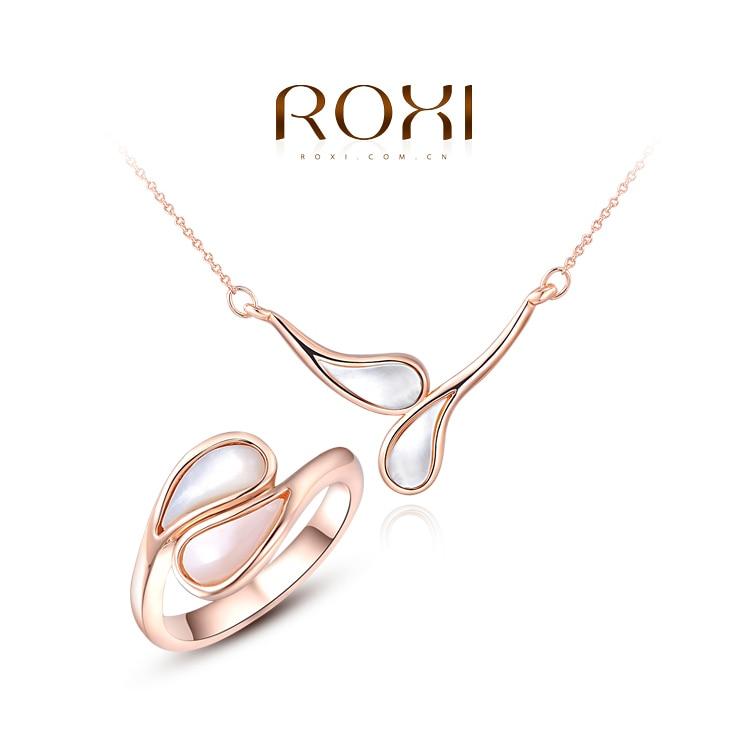 2014 Ladies Girls Korean Style Simple Bridal Jewelry Sets 18K Rose ...