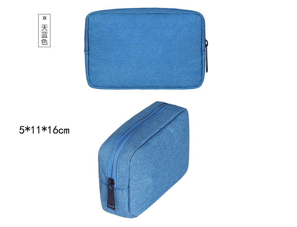 Travel Storage Portable Digital Accessories Gadget Devices Organizer USB Cable Charger Storage Case Travel Cable Organizer Bag (13)