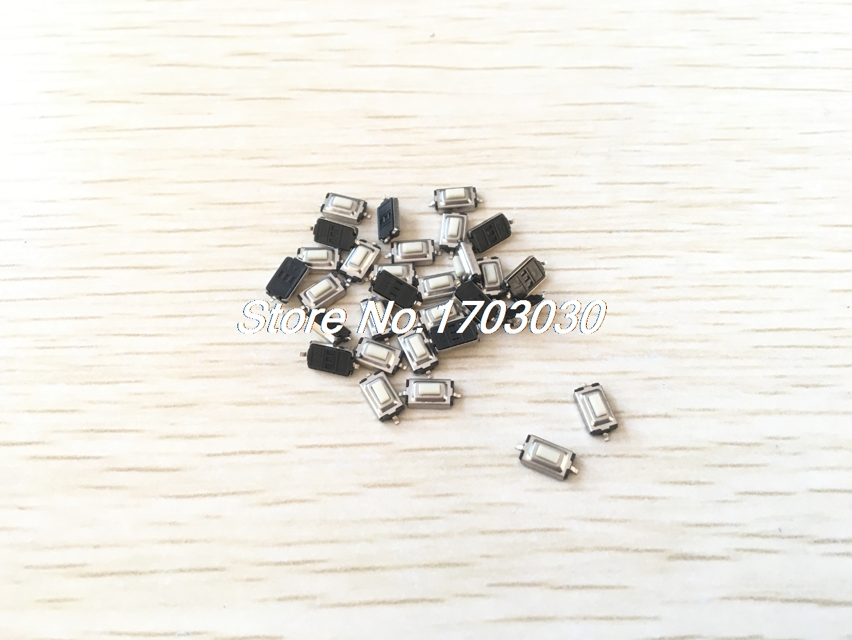 100 pcs 3x6x2.5mm Momentary Tact SMD SMT Pushbutton Micro Switch 2 Pin