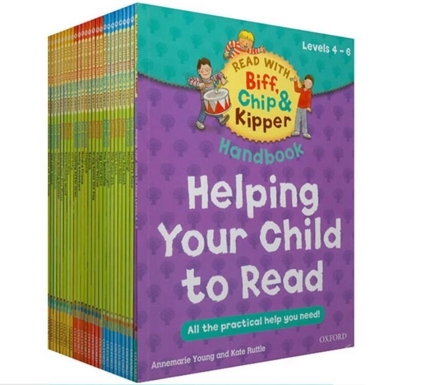 Oxford ReadingTree Anglais Lecture Livre Aider Votre Enfant à Lire 4-6 Niveau 25 pcs/ensemble
