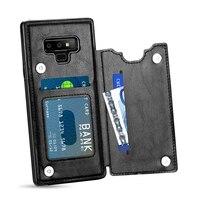 Роскошные кожаные для Coque samsung S9Plus случае S10Plus Note9 крышка samsung Galaxy S10 S9 плюс S8 Etui для samsung примечание 9 чехол S10E