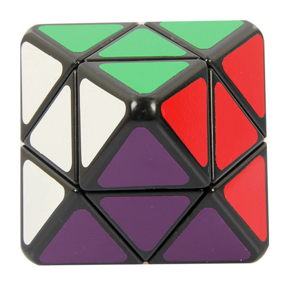Lanlan 80mm 3x3x3 Four-axis Octahedron Magic Cube Speed Puzzle Game Cubes Educational Toys For Kids Children Birthday Gift