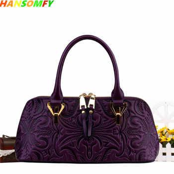 2020 New Women Genuine Leather Shell Bags Luxury Fashion Handbags Ladies Shoulder Bags Female Vintage Crossbody Messenger Bags