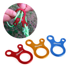 10pcs 3 Holes Camping Awning Cord Rope Tensioner Guy Line Runners Hook Hanger-P101