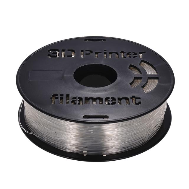 1KG/ Spool 1.75mm Flexible TPU Filament Printing Material Supplies White Black Transparent for 3D Printer Drawing Pens