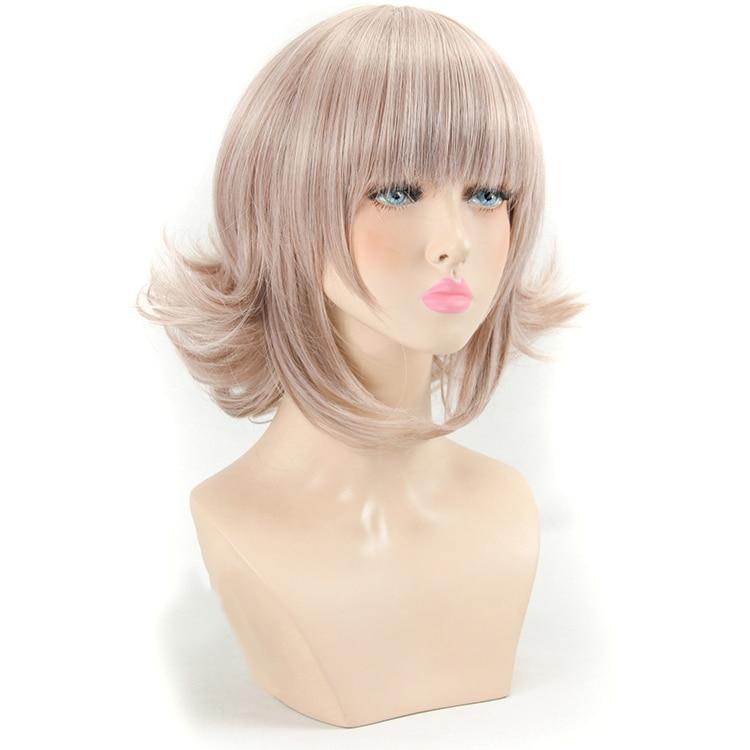 QP Hair Synthetic WigsWoman Adult Wigs Halloween Anime Game Hair high Temperature Fiber Hair