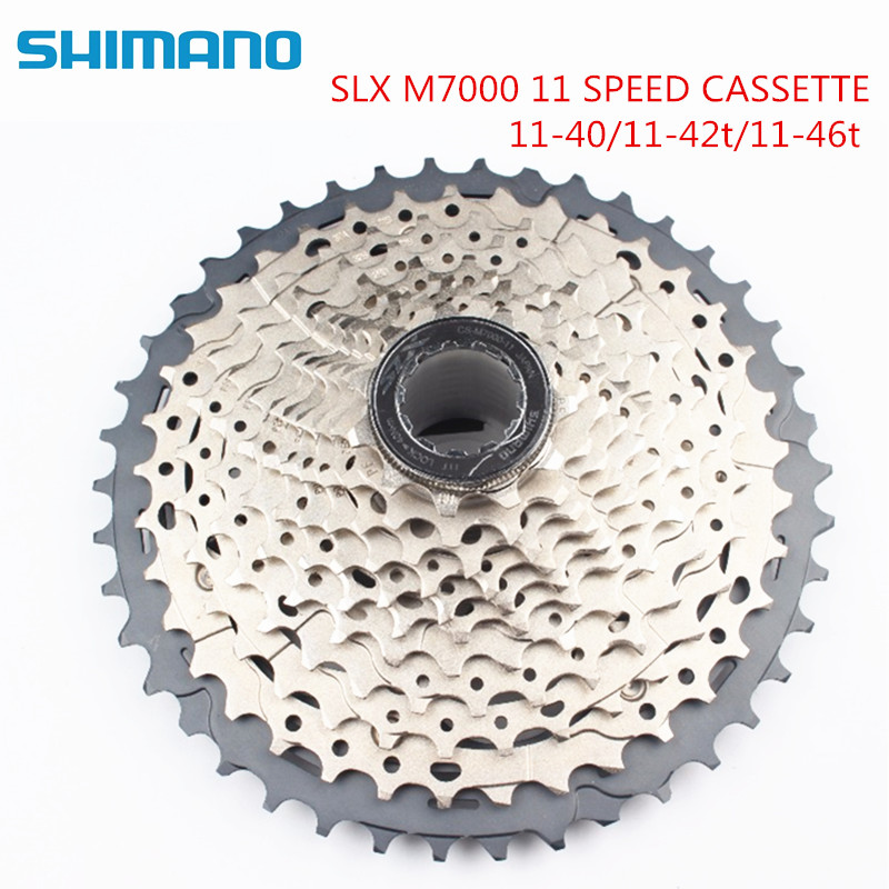 Shimano SLX CS-M7000 11-42 T 11 vitesses vélo vélo 11 V Cassette 11-40 T 11-42 T 11-46 T cassette 11-vitesse M7000 40 T 42 T 46 T