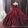 Vinho tinto vestido quinceanera sweet 16 dresses vestido de 15 años de debutante vestidos de quinceanera vestidos de robe de bal 2017