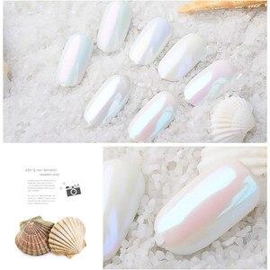 ISHOWTIENDA Pearlescent Pigment Gliter Pigmento Nail Glitter Pearl Powder Nail Art Glitter Nails Art Decorations Maquiagem #WL(China)