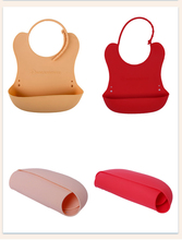 4 Colors Silicone Baby Bib Waterproof Soft Plastic Toddler Bibs Newborn Candy Color Feeding Kids Towel