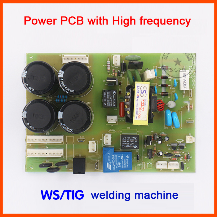 WS/tig-16/200/250 argon arc welding machine baseboard panel is fitted with high voltage arc plate circuit board цена и фото