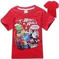 Thomas y Amigo de los Muchachos T-shirt Nuevo Verano de Algodón de Manga Corta Camiseta de Los Muchachos de Algodón Bebé Niño Niños de la Historieta Remata camisetas