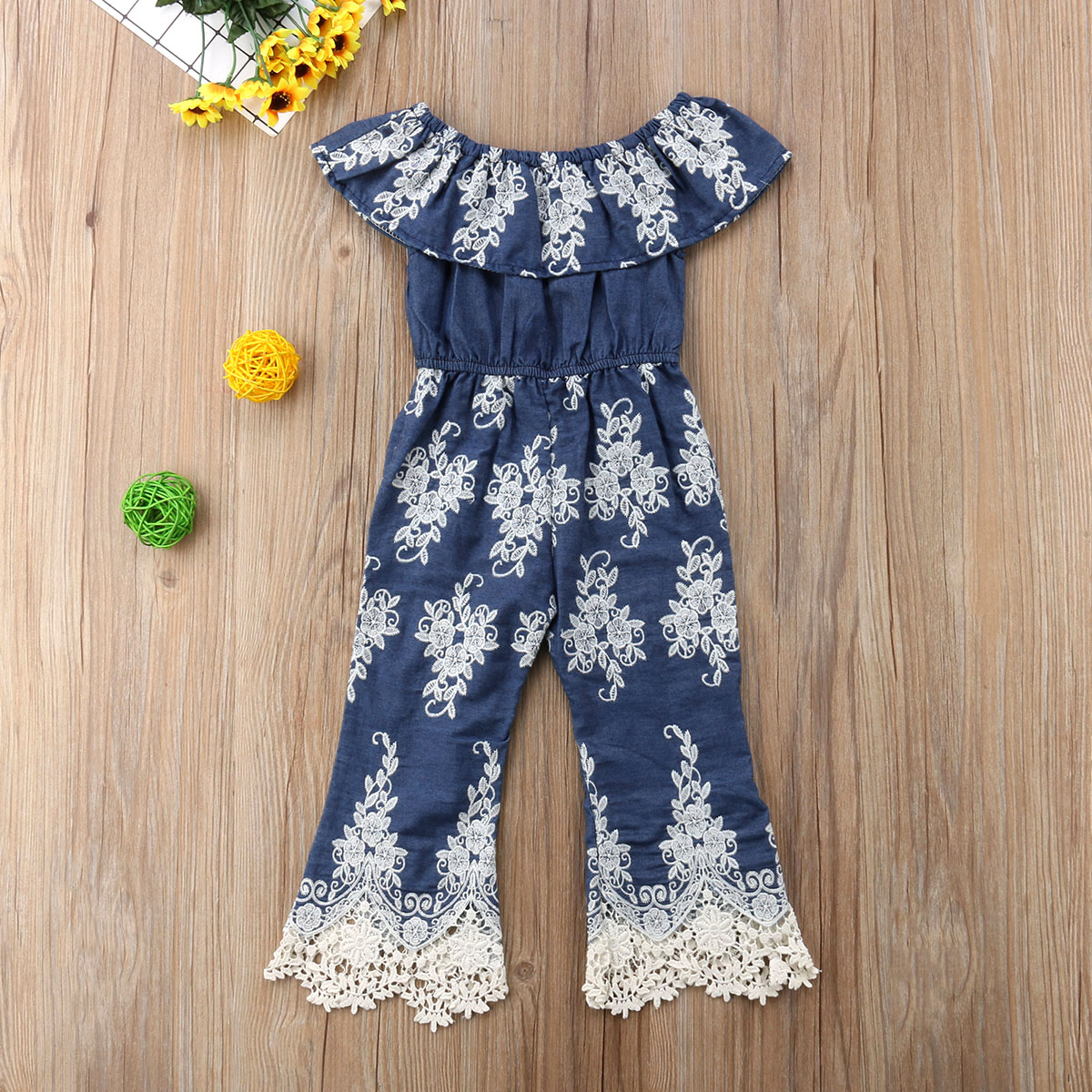 375d2c4e6a7db 2018 Brand New Princess Sweet Summer Kid Dress Baby Girls Embroidery Lace  One Piece Jumpsuit Romper Dress 1 6T-in Dresses from Mother & Kids on ...