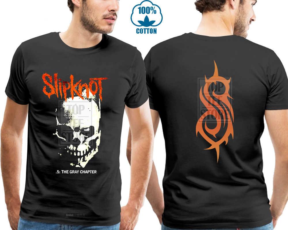 cf0c5db1 Slipknot Skull & Tribal Gray Chapter Shirt S M L Xl Official T Shirt Tshirt  New