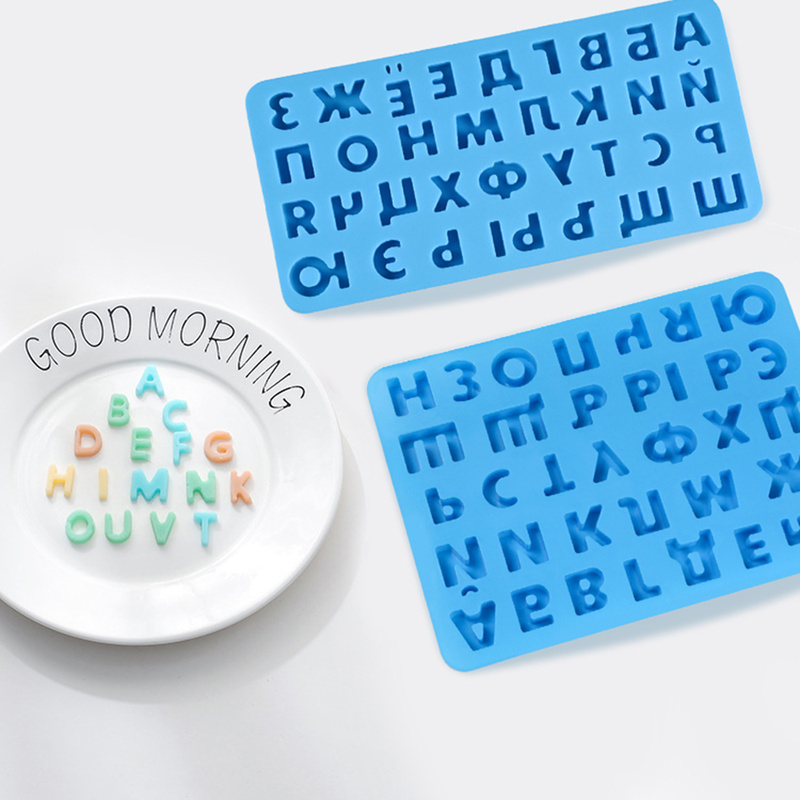 Baking Alphabet Letter Trays Fondant Cake Mold Chocolate Mold Decorating Tools