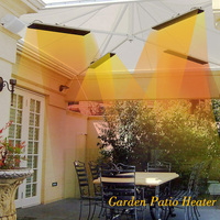 Premium Outdoor Strip Infrared Electric Patio Heaters 2400W SAA Certification