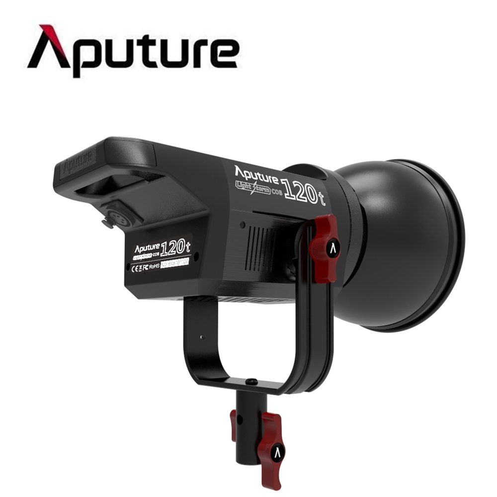 2016 New Arrival Aputure LS C120t COB LED Studio Light TLCI/CRI 97 Photographic Lighting with Anton Bauer Controller Box aputure ls c120t tlci cri 97 light dome kit led video studio camera light panel light storm with wireless remote v mount plate