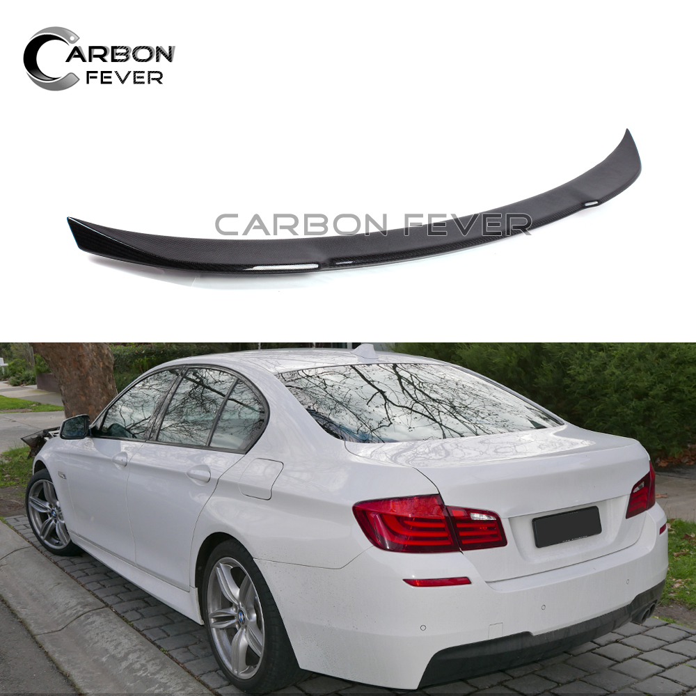 2012 Bmw F10 M5 Saloon Uk: New Style F10 F18 Spoiler 4 Door Saloon Carbon Fiber Trunk