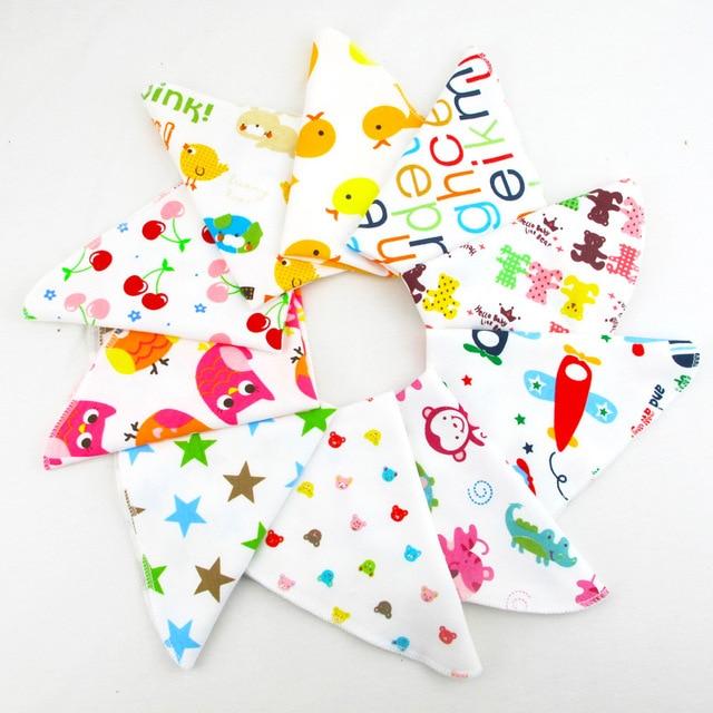 100% Muslin Cotton Seersckuer Burp Cloths 25x25cm Soft Handkerchief For Infant Children Feeding Bathing Face Washing