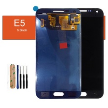 For Samsung Galaxy E5 E5000 E500F E500H E500M E500FN LCD Display Touch Screen Digitizer Not Adjust Brightness Assembly Tools
